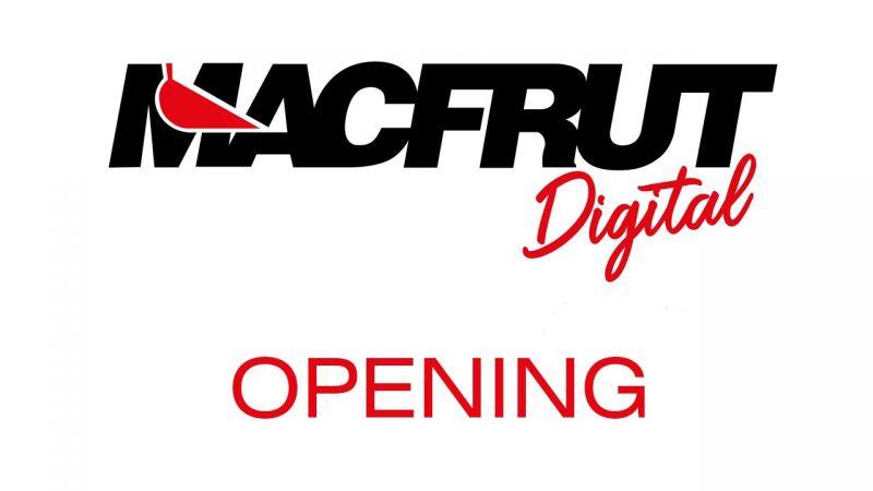 Inaugurazione Macfrut Digital